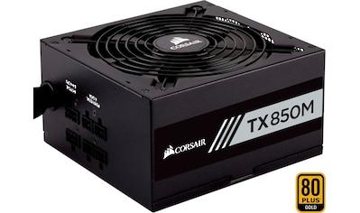 Corsair PC-Netzteil »Corsair TX850M PC-Netzteil (Teil-Modulares Kabelmanagement, 80... kaufen