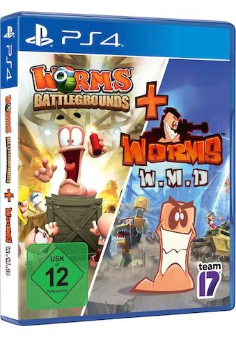 PlayStation 4 Spiel »Worms Battlegrounds + W.M.D«, PlayStation 4 kaufen