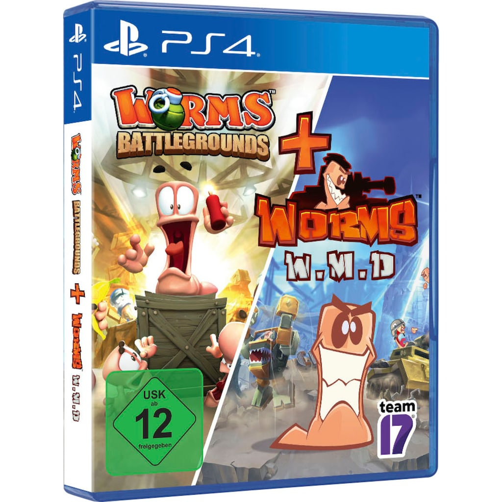 PlayStation 4 Spiel »Worms Battlegrounds + W.M.D«, PlayStation 4
