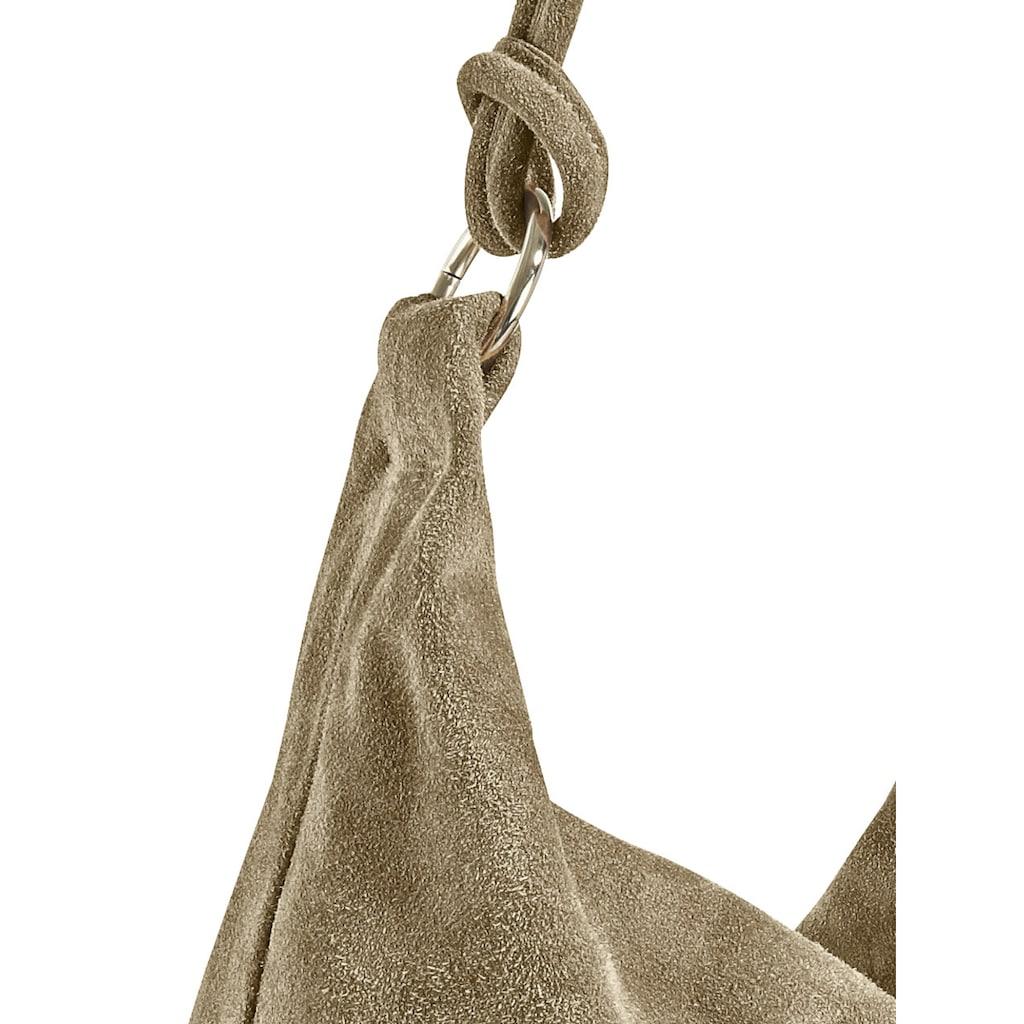 Tasche in Beutelform