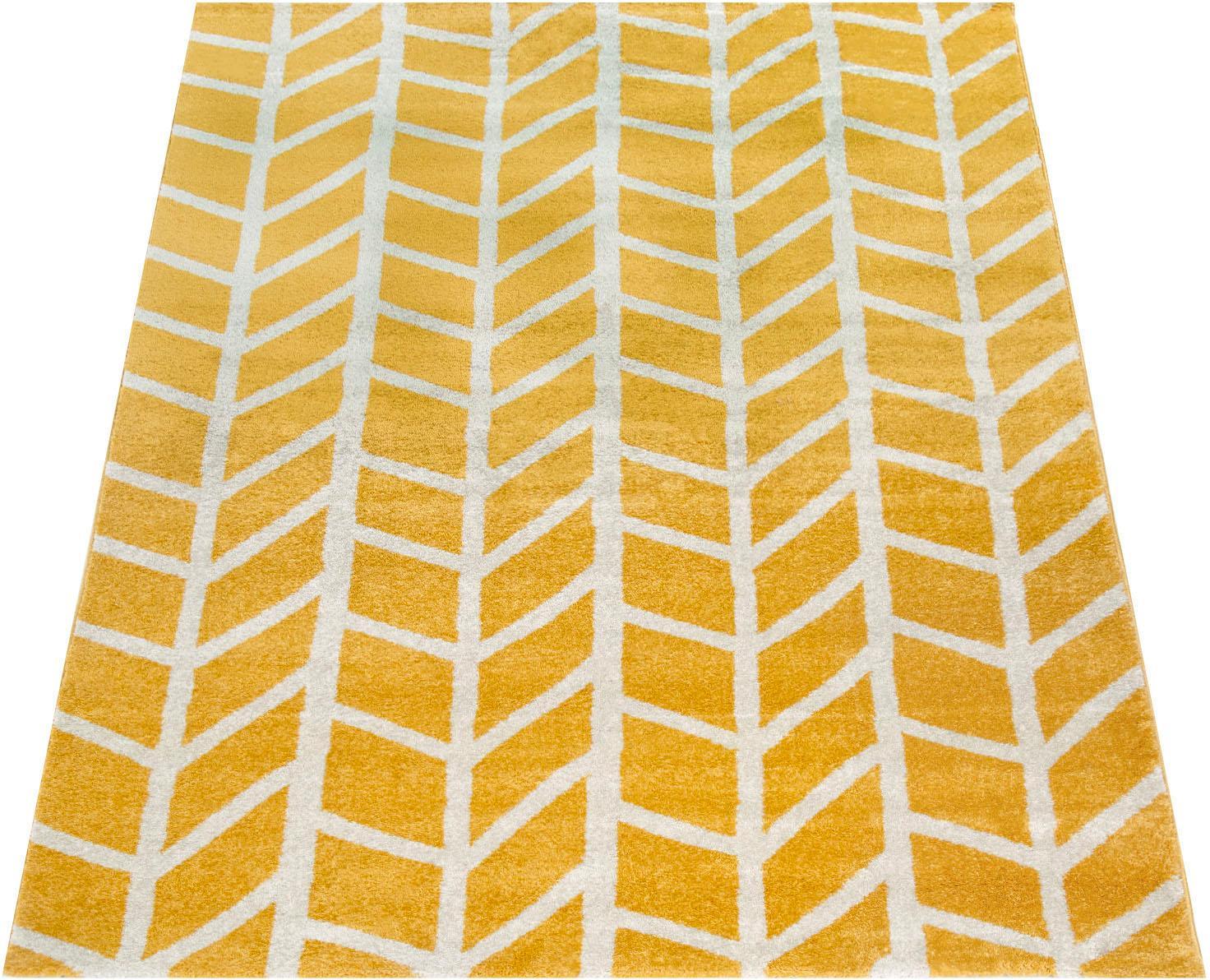 Teppich Pattern 120 Paco Home rechteckig Höhe 18 mm maschinell gewebt