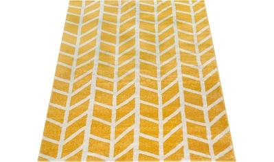 Paco Home Teppich »Pattern 120«, rechteckig, 18 mm Höhe, Kurzflor, Wohnzimmer kaufen