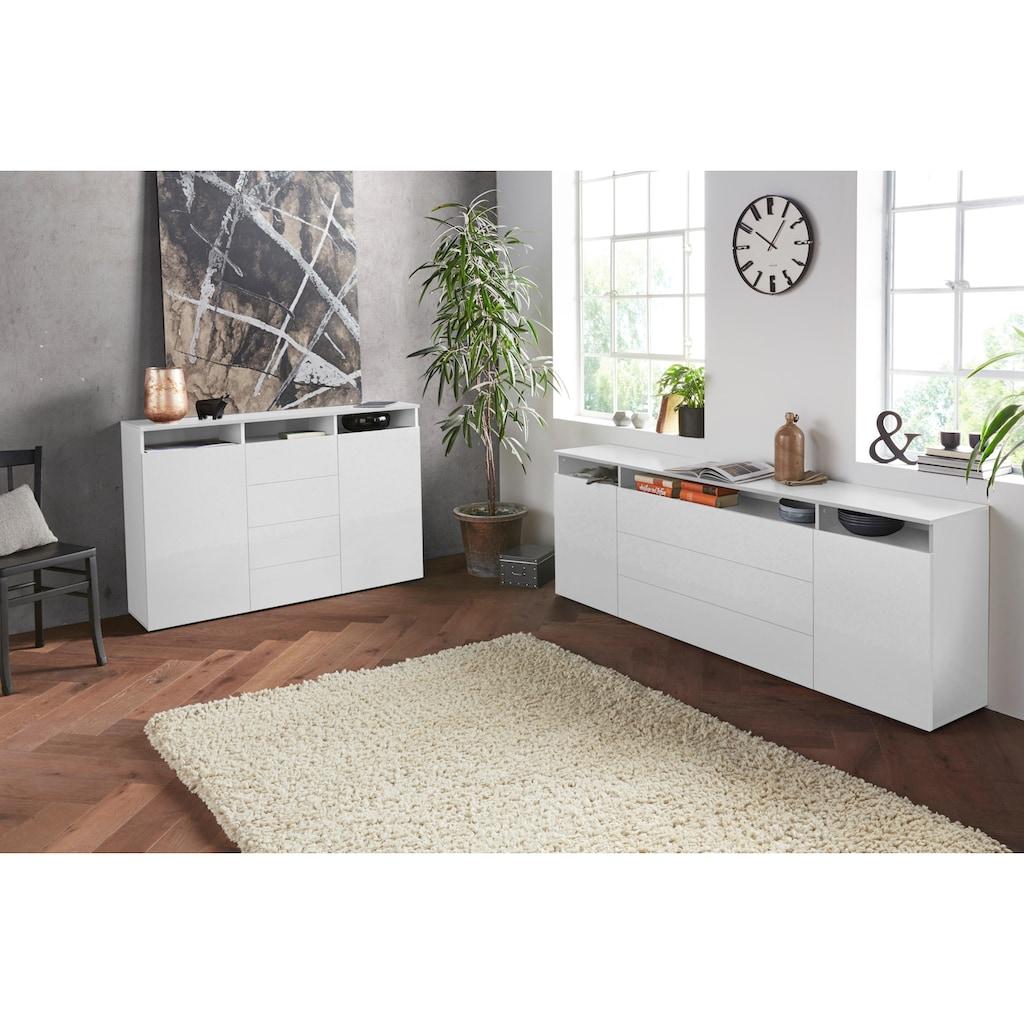borchardt Möbel Highboard »Melbourne«, Breite 139 cm