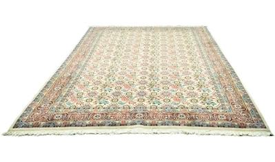 morgenland Wollteppich »Hamadan Teppich handgeknüpft beige«, rechteckig, 12 mm Höhe kaufen