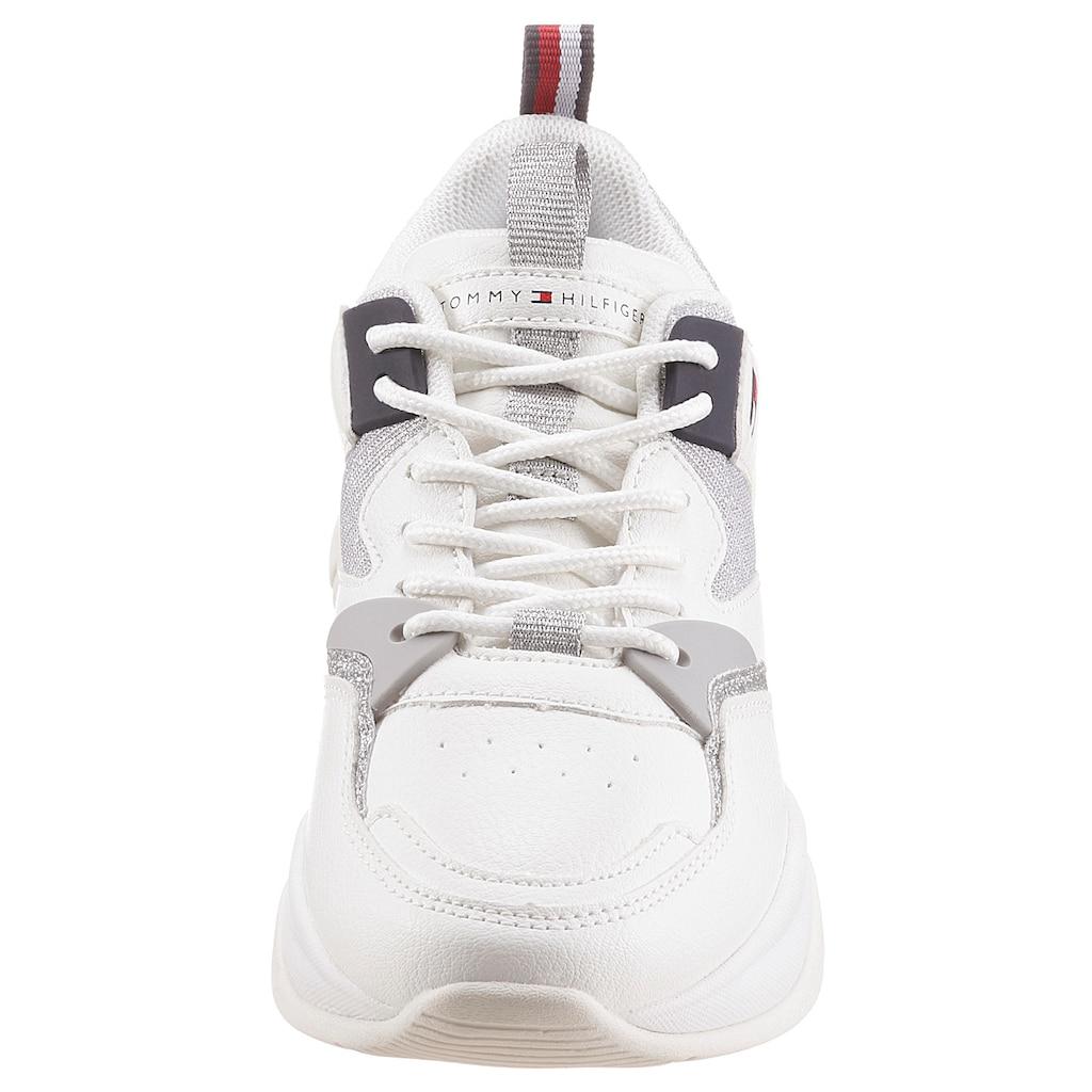 TOMMY HILFIGER Sneaker, mit Glitzer