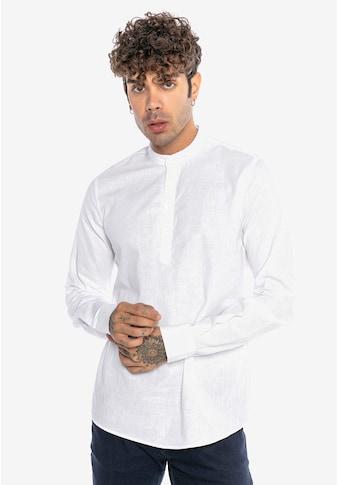 RedBridge Langarmhemd »Bristol«, mit stylischem Stehkragen kaufen