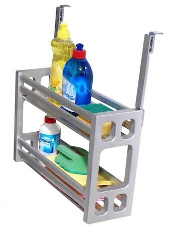 Ruco Türregal, Aluminium/Kunststoff, ideal für Spülutensilien kaufen