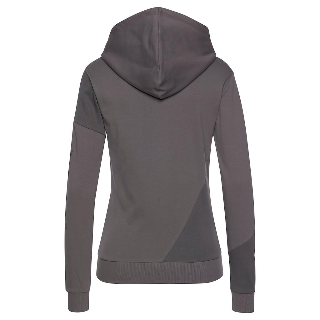 Bench. Kapuzensweatshirt, in Patchwork-Optik