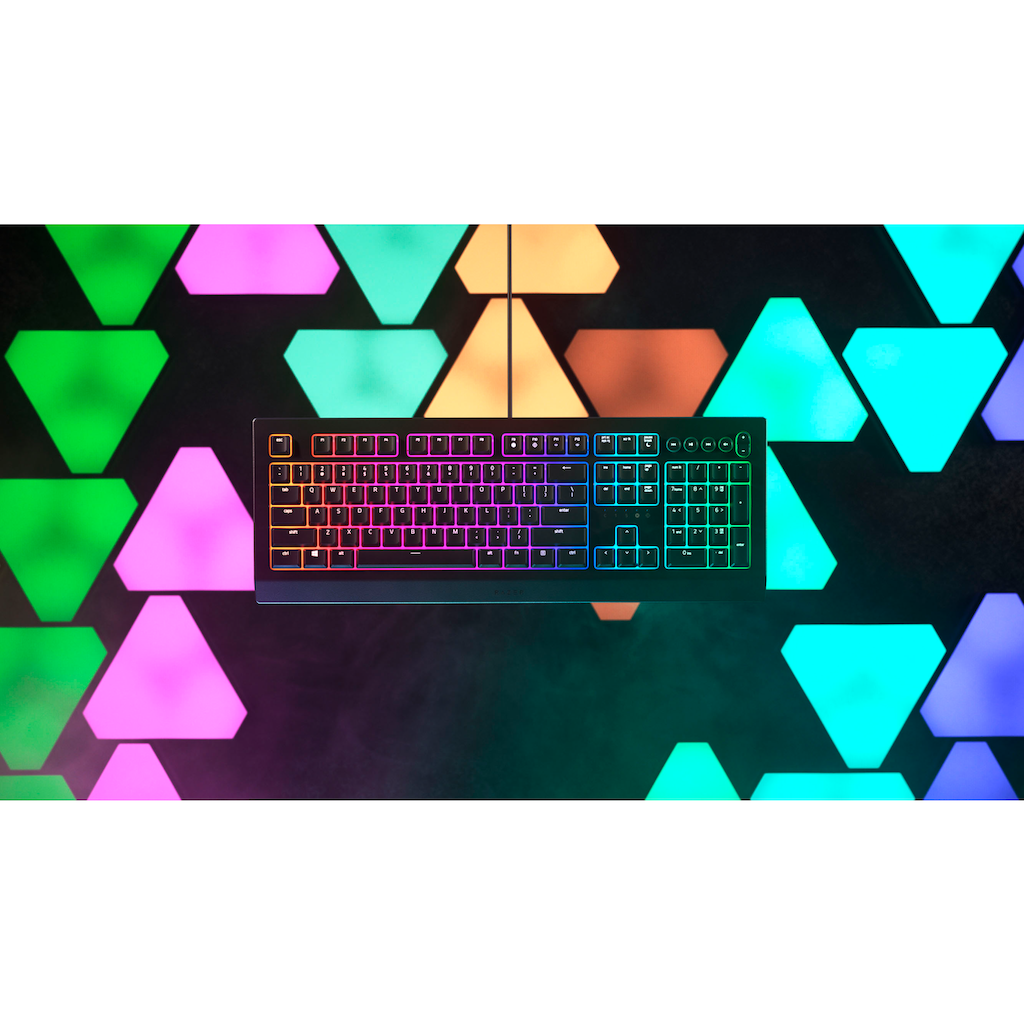 RAZER Gaming-Tastatur »Cynosa V2 - German Layout«, (Fn-Tasten-Ziffernblock)