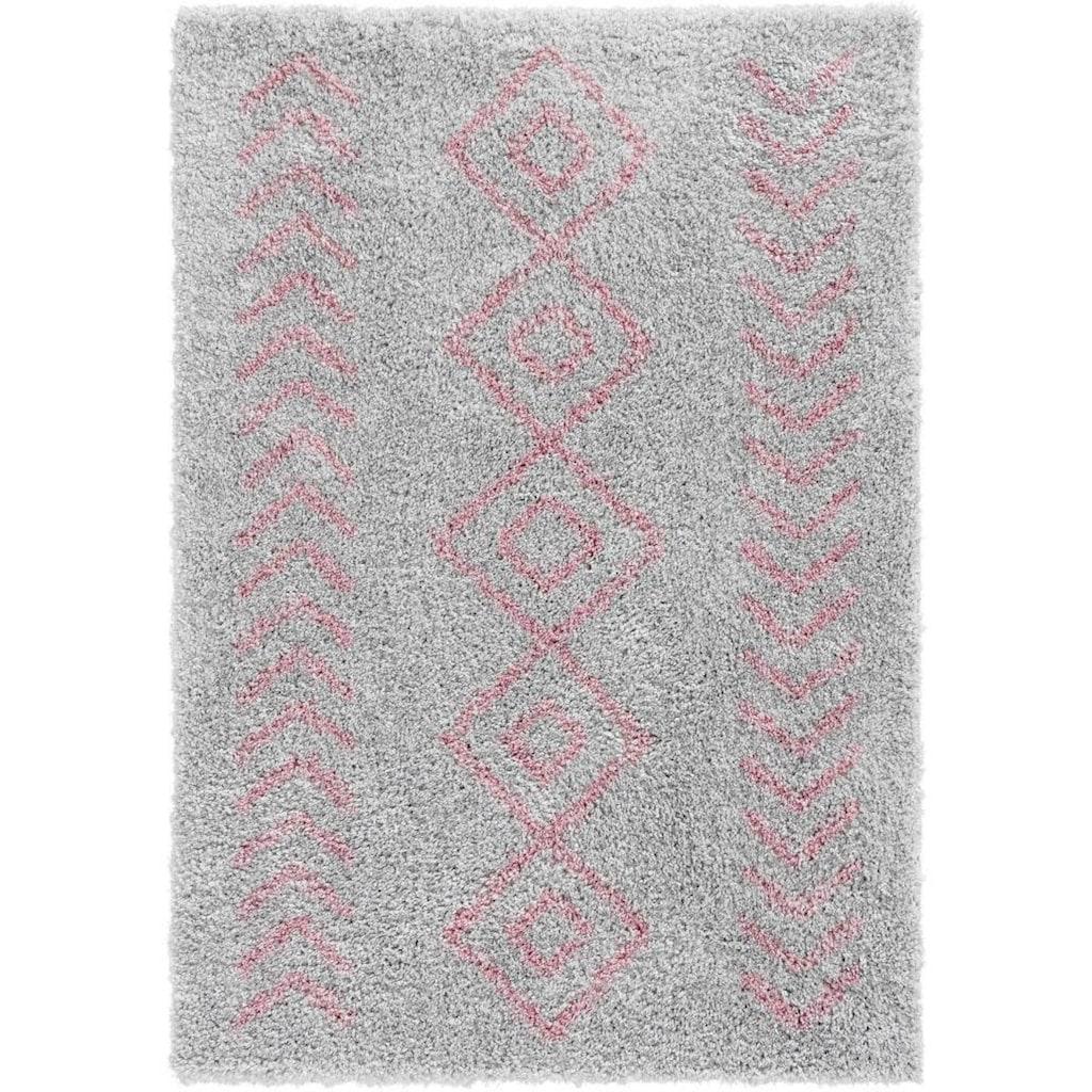 Sehrazat Hochflor-Teppich »Ethno 8685«, rechteckig, 30 mm Höhe, weiche Haptik, Wohnzimmer