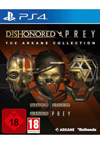 Bethesda Spiel »The Arkane Collection: Dishonored & Prey«, PlayStation 4 kaufen