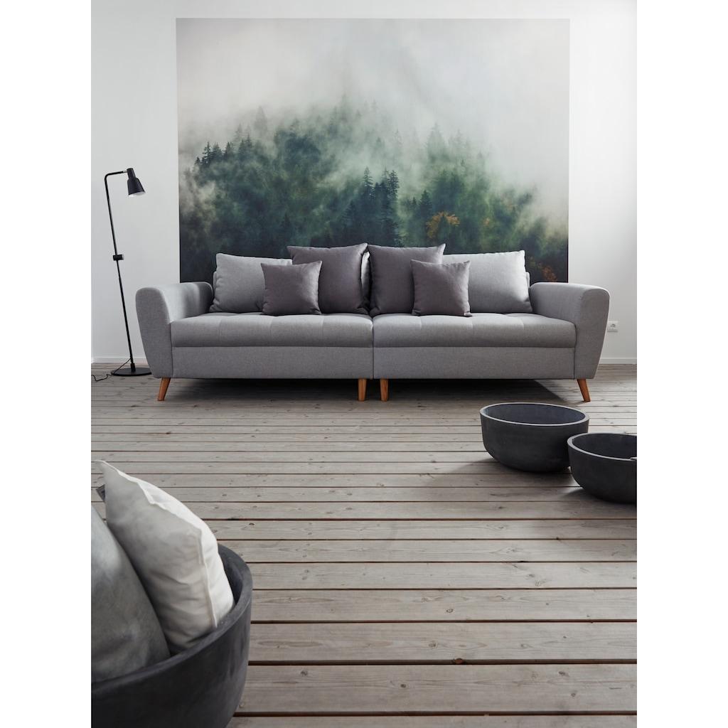 Home affaire Big-Sofa »Penelope Luxus«, mit besonders hochwertiger Polsterung für bis zu 140 kg pro Sitzfläche