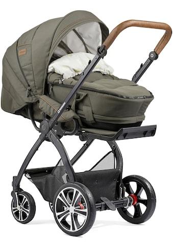 Gesslein Kombi-Kinderwagen »FX4 Classic, schwarz/tabak mit Tragetasche C4 Next,... kaufen