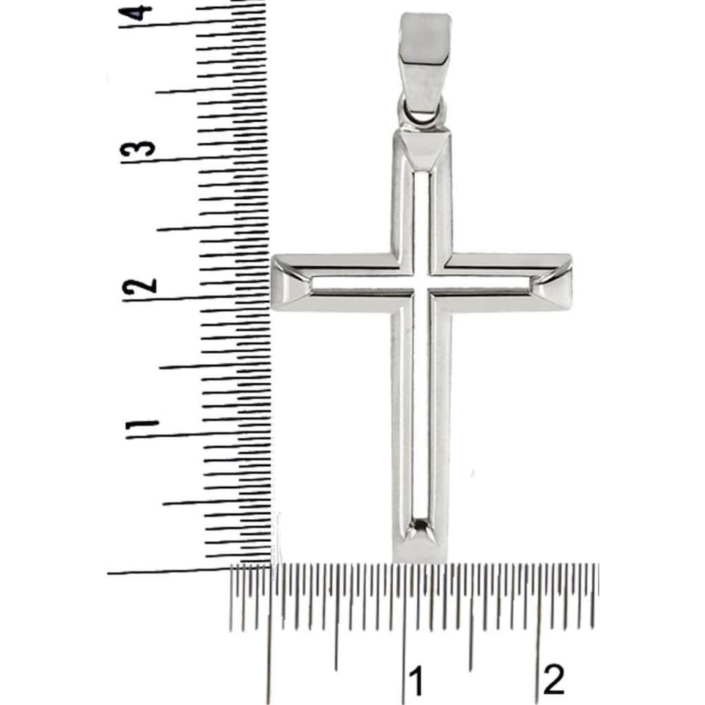 Firetti Kettenanhänger »Kreuz, feminin, poliert, massiv«, Made in Germany