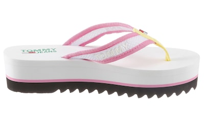 TOMMY JEANS Zehentrenner »RECYCLED MESH MID BEACH SANDAL« kaufen