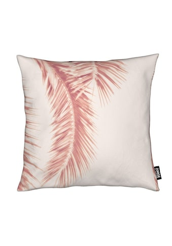 Dekokissen, »Rose Palm Leaves«, Juniqe kaufen