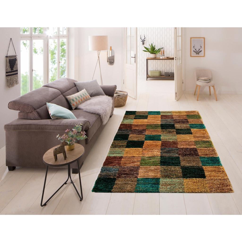 Home affaire Teppich »Diamond«, rechteckig, 10 mm Höhe