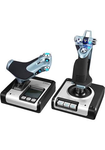 Logitech G Gaming-Adapter »Saitek X52 Flight Control System«, 1,4 cm kaufen