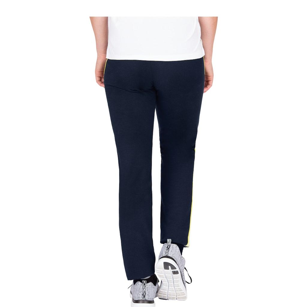 Trigema Jogginghose, mit kontrastfarbigen Streifen