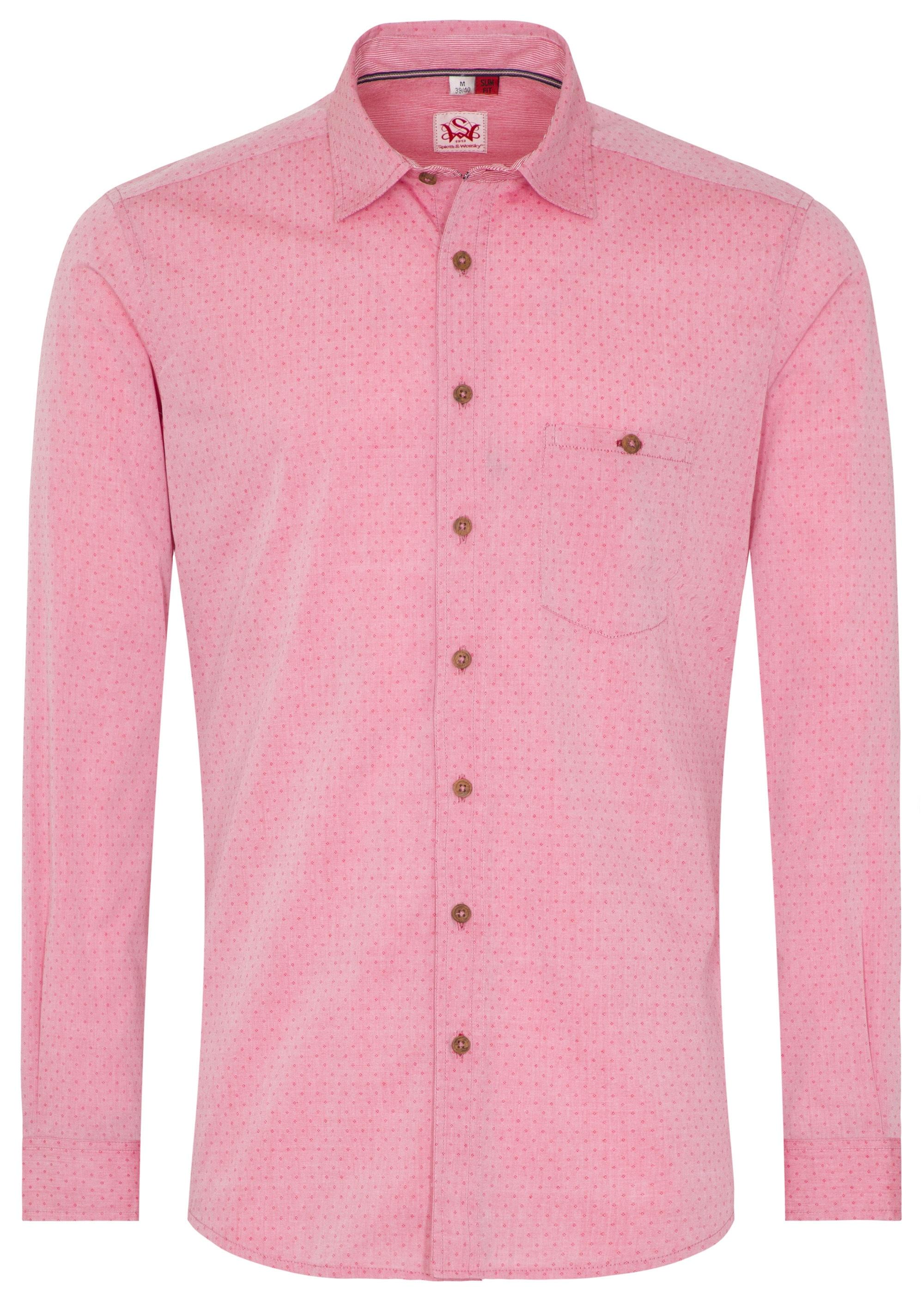 Spieth & Wensky Trachtenhemd ´´Kelberg´´ | Bekleidung > Hemden > Trachtenhemden | Rot | Baumwolle | Spieth & Wensky