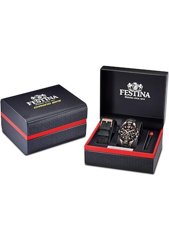 Festina Chronograph »Special Edition Chrono Bike 2020, F20525/1« (Set, 3 tlg., mit Wechselband und Schraubenzieher) kaufen