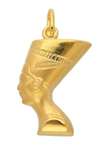 Adelia´s Kettenanhänger »333 Gold Anhänger Nofretete«, Goldschmuck für Damen kaufen