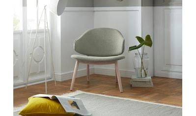 andas Sessel »Sporring«, mit Beingestell aus massivem Eschenholz, Design by Morten Georgsen kaufen