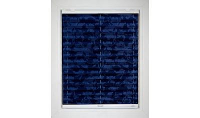 sunlines Plissee nach Maß »Blue Line«, Lichtschutz, energiesparend, mit Bohren, verspannt, Blüten-Muster kaufen