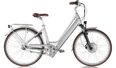ALLEGRO E - Bike »Invisible City Plus Silver«, 7 Gang Shimano Nexus Schaltwerk, Nabenschaltung, Frontmotor 250 W kaufen