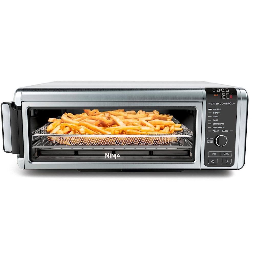 NINJA Heissluftfritteuse »Foodi 8-in-1-Fritteuse Multiofen SP101EU«, auch als Minibackofen, Dörrautomat, Toaster, Elektrogrill nutzbar
