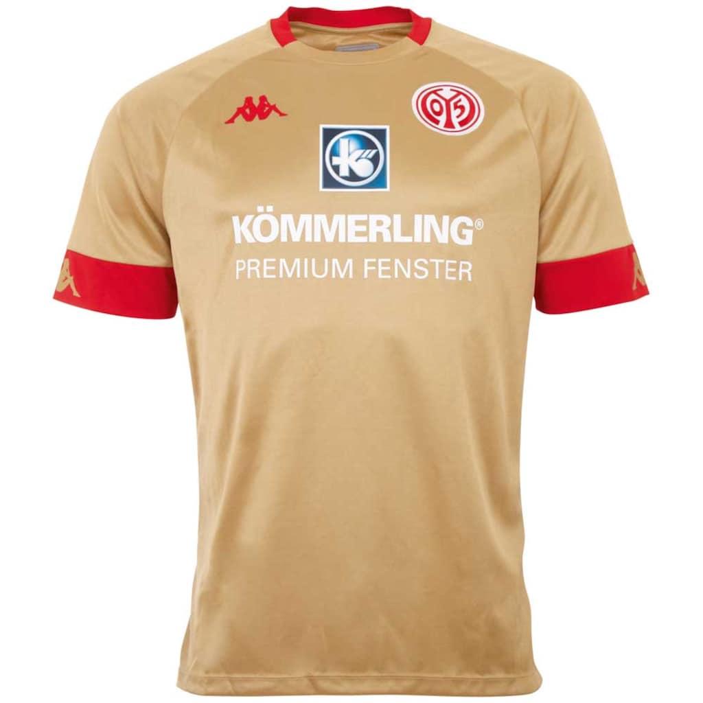 Kappa Fußballtrikot »MAINZ 05 AUSWEICHTRIKOT«, mit dem Mainzer Stadtwappen im Nackenbereich<br />