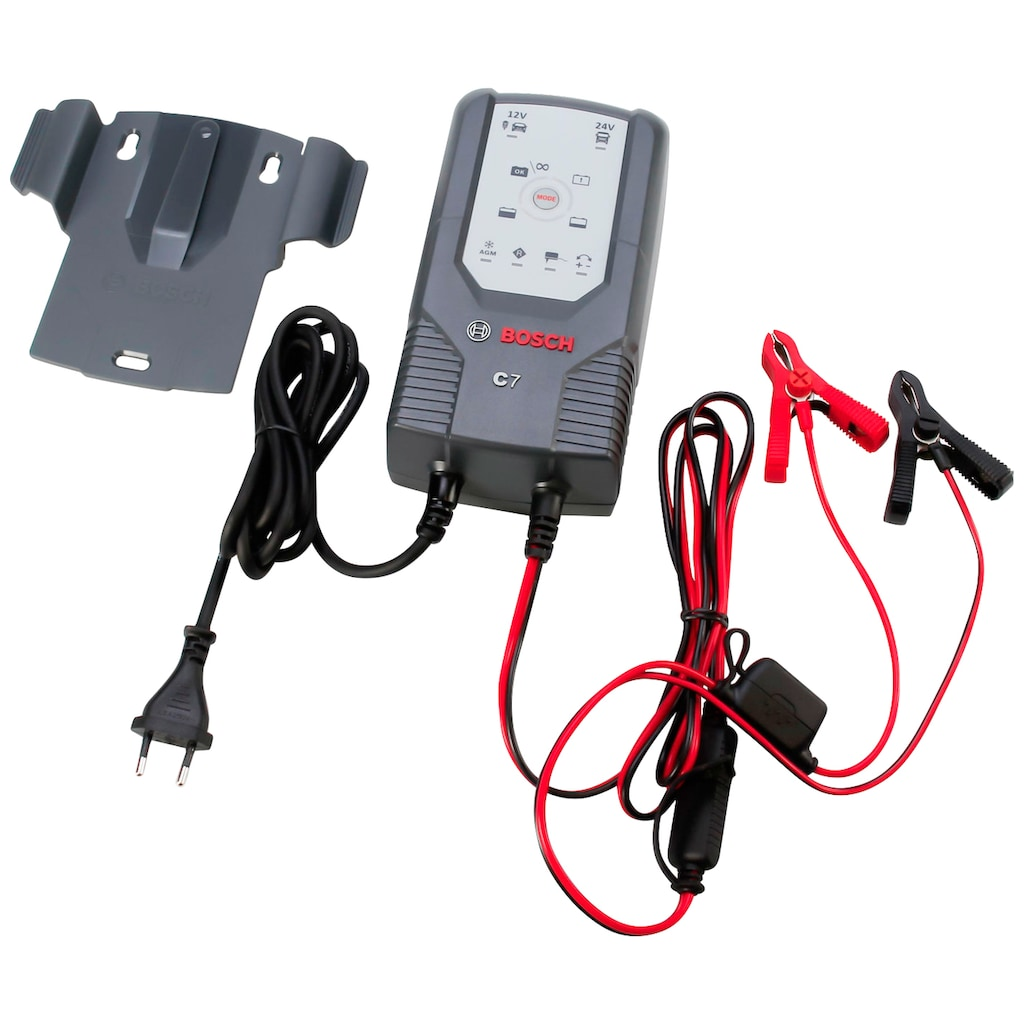 BOSCH Batterie-Ladegerät »C7«, 135 W