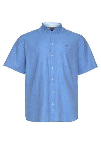 Tommy Hilfiger Big & Tall Kurzarmhemd »BT-CO/LI TWILL SHIRT S/S-B« kaufen