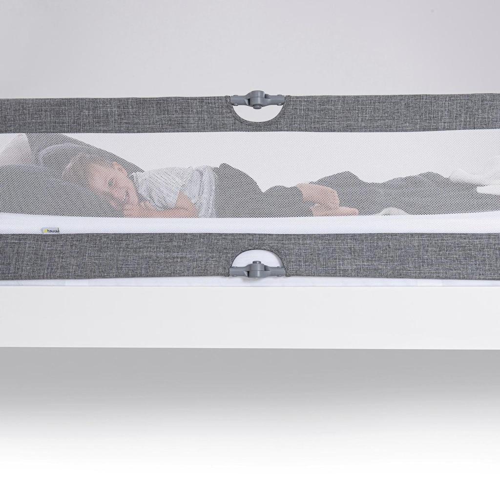 Hauck Bettschutzgitter »Sleep N Safe Plus XL -  Melange Grey«