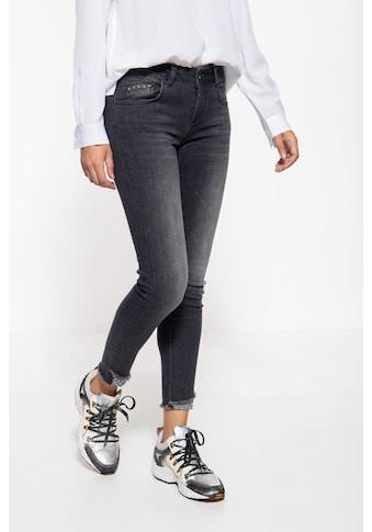 ATT Jeans 5-Pocket-Jeans »Leoni«, mit Waschungen und Nieten kaufen