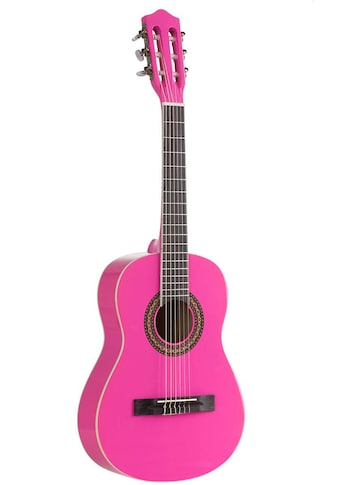 Voggenreiter Kindergitarre »Kindergitarre 1/2, pink«, 1/8 kaufen