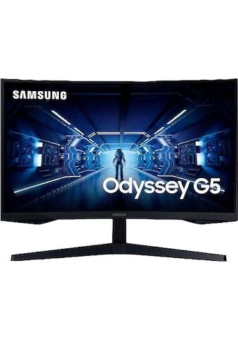 """Samsung Gaming-Monitor »C27G54TQWR«, 68 cm/27 """", 2560 x 1440 px, WQHD, 1 ms... kaufen"""