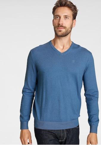bugatti V-Ausschnitt-Pullover kaufen