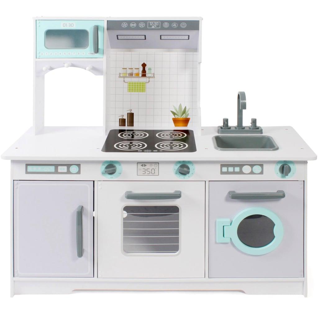 CHIC2000 Spielküche »Große Spielküche, weiß-grau«