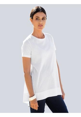 Alba Moda T-Shirt, im Material-Mix mit mercerisierter Baumwolle kaufen