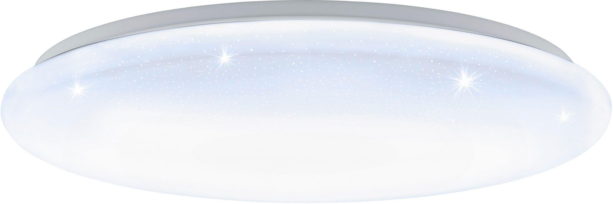 EGLO LED Deckenleuchte GIRON-S, LED-Board, Extra-Warmweiß-Kaltweiß-Neutralweiß-Tageslichtweiß-Warmweiß, Steuerung über Fernbedienung, Timer