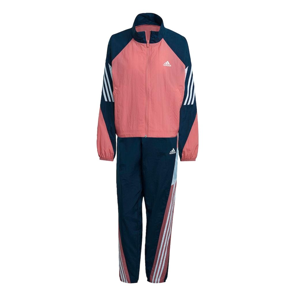 adidas Performance Trainingsanzug »ADIDAS SPORTSWEAR GAME-TIME WOVEN«, (Set, 2 tlg.)