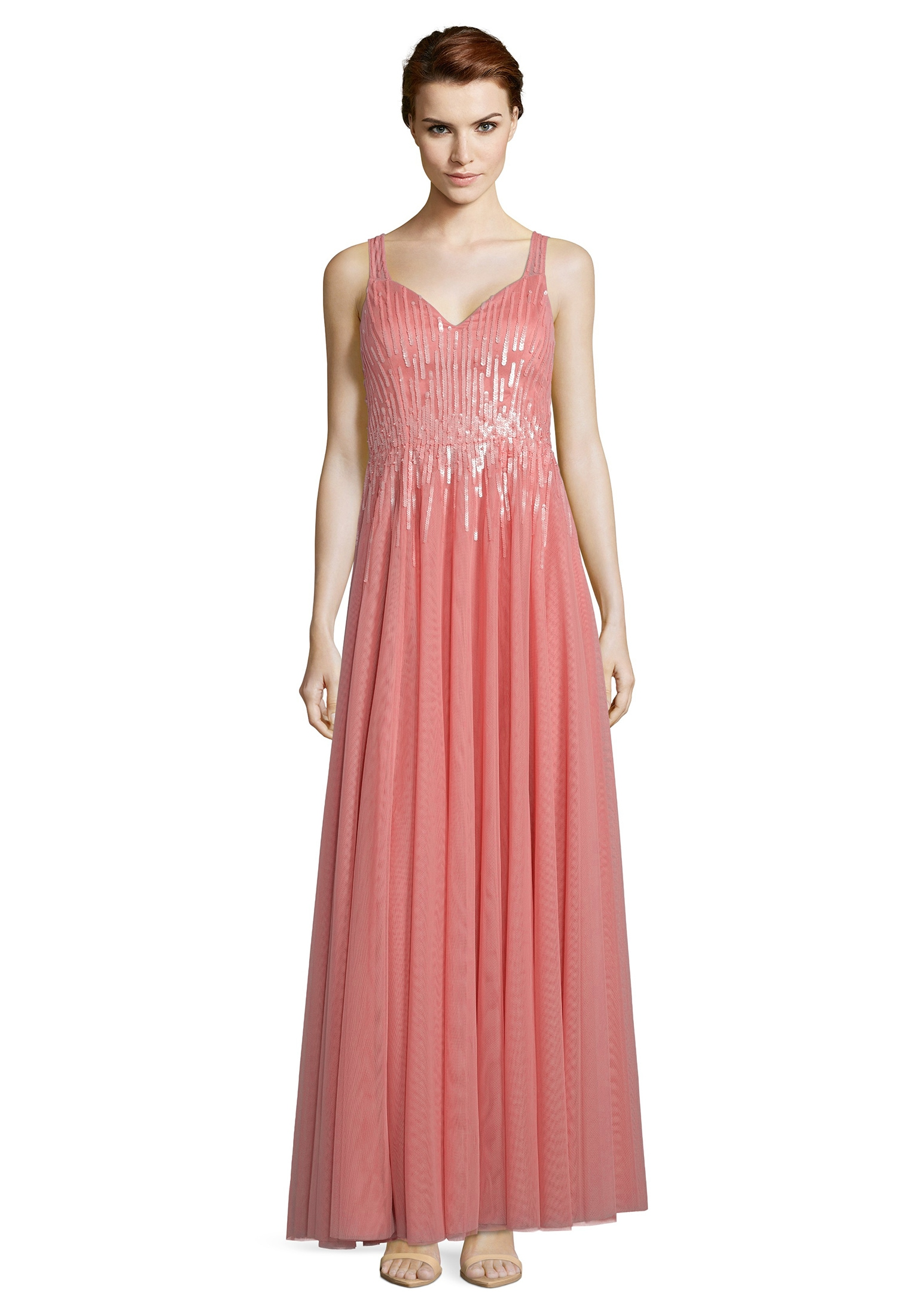vera mont -  Abendkleid mit Pailletten