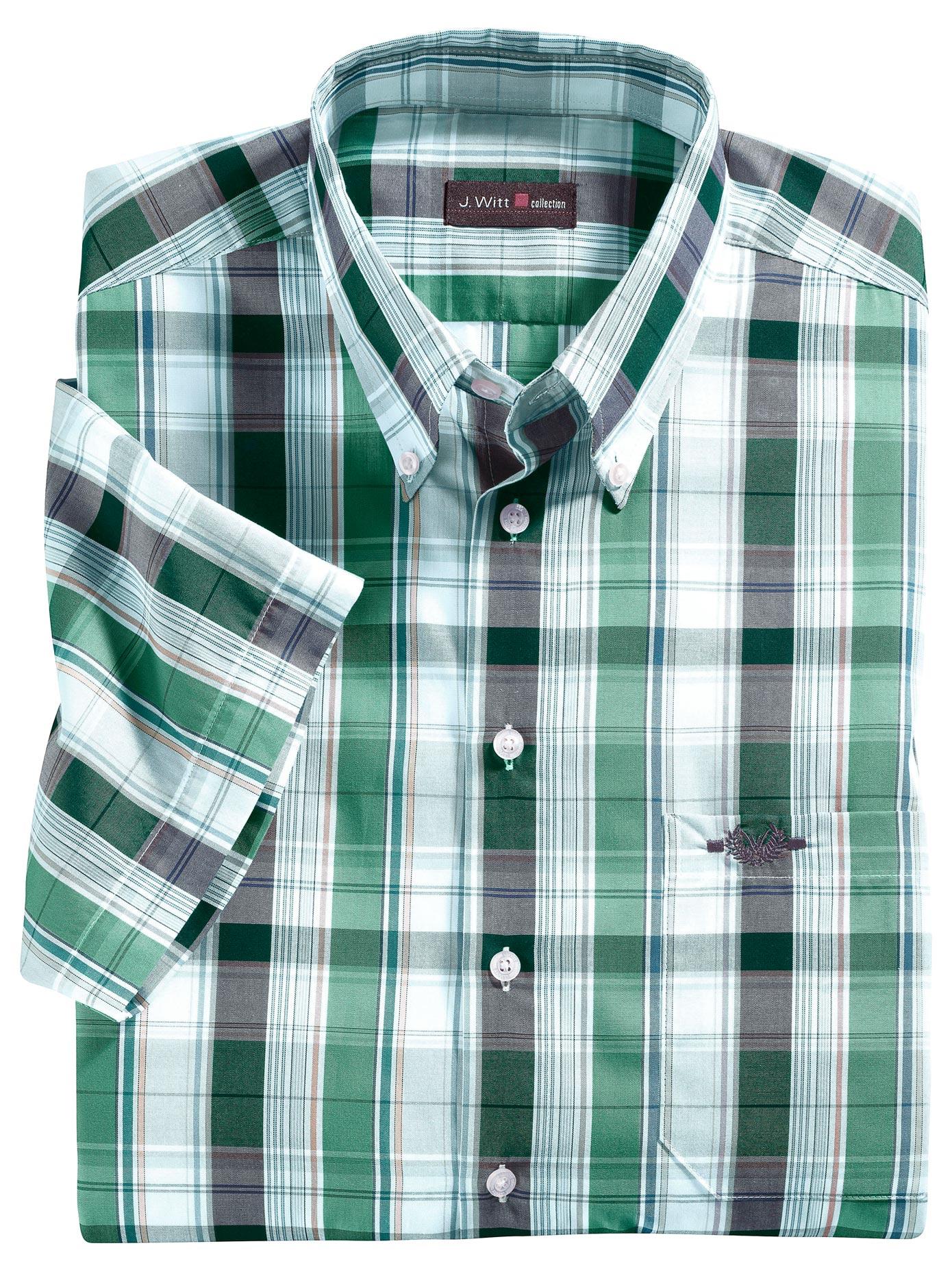 Hatico Hemd mit sportivem Button-Down-Kragen | Bekleidung > Hemden > Sonstige Hemden | Grün | HATICO