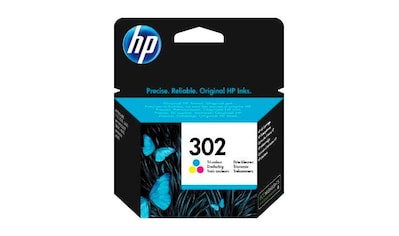 HP »hp 302 color (c/m/y) F6U65AE, original, Multipack« Tintenpatrone kaufen