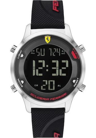 Scuderia Ferrari Digitaluhr »DIGITRACK, 830756« kaufen
