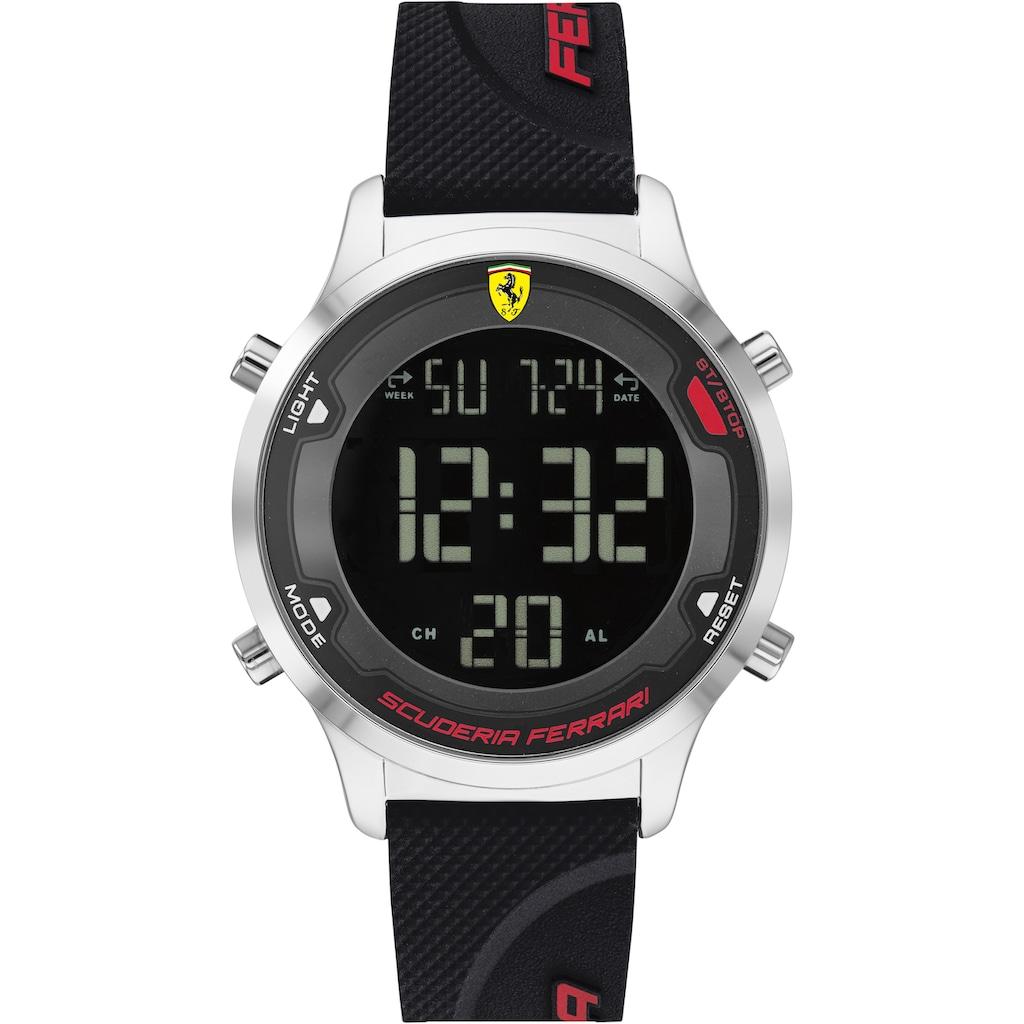 Scuderia Ferrari Digitaluhr »DIGITRACK, 830756«
