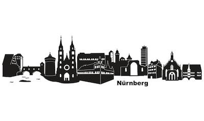 Wall-Art Wandtattoo »Stadt Skyline Nürnberg 120cm« kaufen