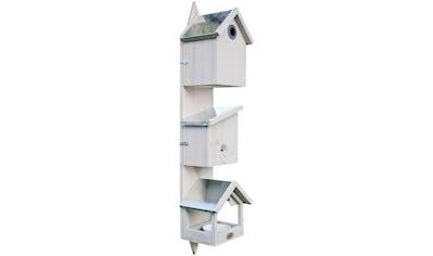 HABAU Vogelhaus »Triple«, BxTxH: 21x18x76 cm kaufen