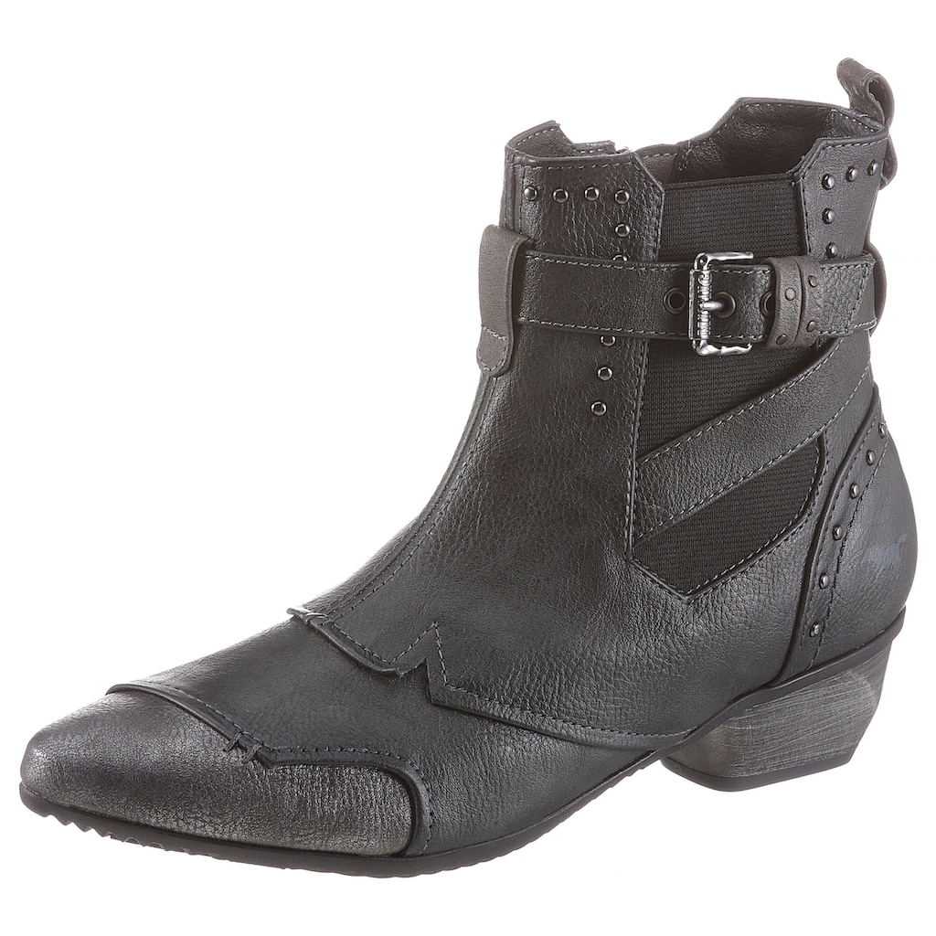 Mustang Shoes Chelseaboots, in spitz zulaufender Form